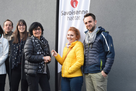 REMISE DES CLES AUX VERGERS D'ANTOINE À SONNAZ!