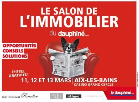 SAVOISIENNE HABITAT présent au Salon de l'immobilier au Casino Grand Cercle d'Aix-les-Bains