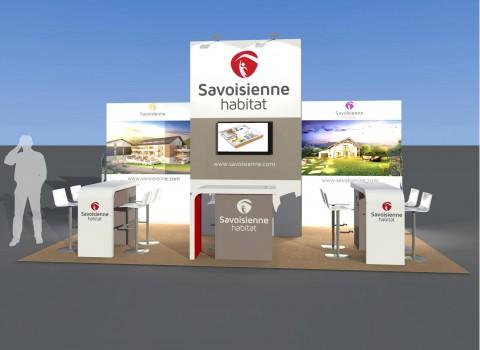 Un nouveau stand pour Savoisienne Habitat