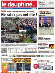 Le Dauphiné Libéré - 30 juin 2017- SH a fêté ses 110 ans