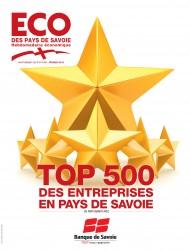 SAVOISIENNE HABITAT DANS LE TOP 500 DES ENTREPRISES PAYS DE SAVOIE