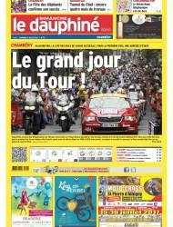 Le Dauphiné Libéré - 9 Juillet 2017- Tournée vers l'avenir