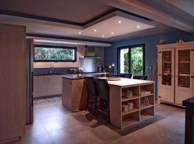 Intérieur cuisine maison savoisienne habitat
