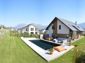 maison Savoisienne Habitat avec piscine