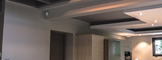 Intérieur salle à manger maison savoisienne habitat