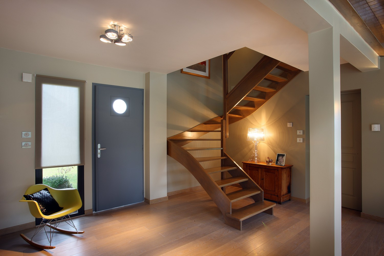 R f rences savoisienne habitat savoisienne habitat - Idee deco entree avec escalier ...