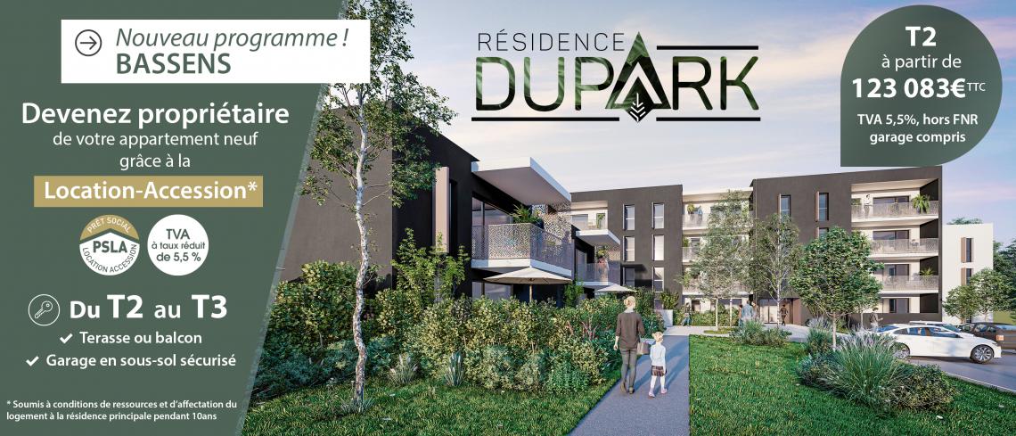 La résidence DUPARK