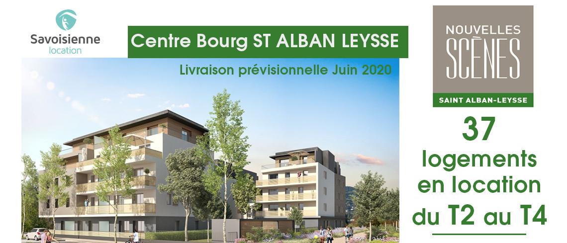 Nouvelles scenes - SAINT ALBAN LEYSSE