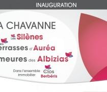 PROCHAINEMENT : Inauguration & Livraison à LA CHAVANNE
