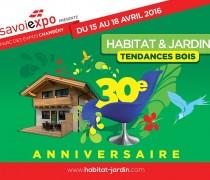 SAVOISIENNE HABITAT PRÉSENT AU Salon habitat&Jardin - Tendances bois