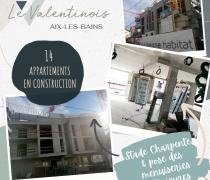 [ZOOM CHANTIER] Le valentinois - AIX LES BAINS